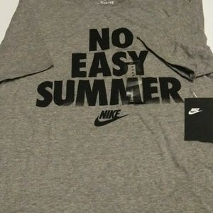 Nike No Easy Summer tee shirt size medium